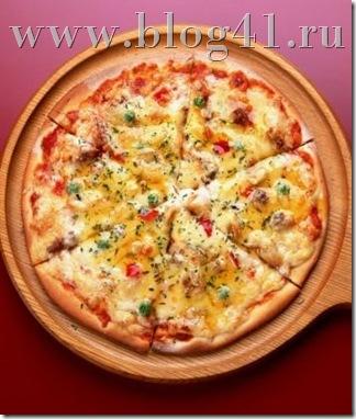 Рецеп пиццы картофельной с колбосой ветчиной и сыром