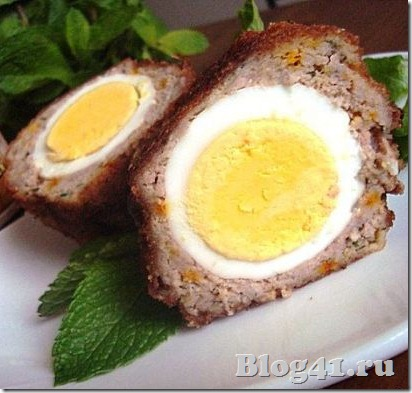 Рецепт приготовления яйца по-шотландски